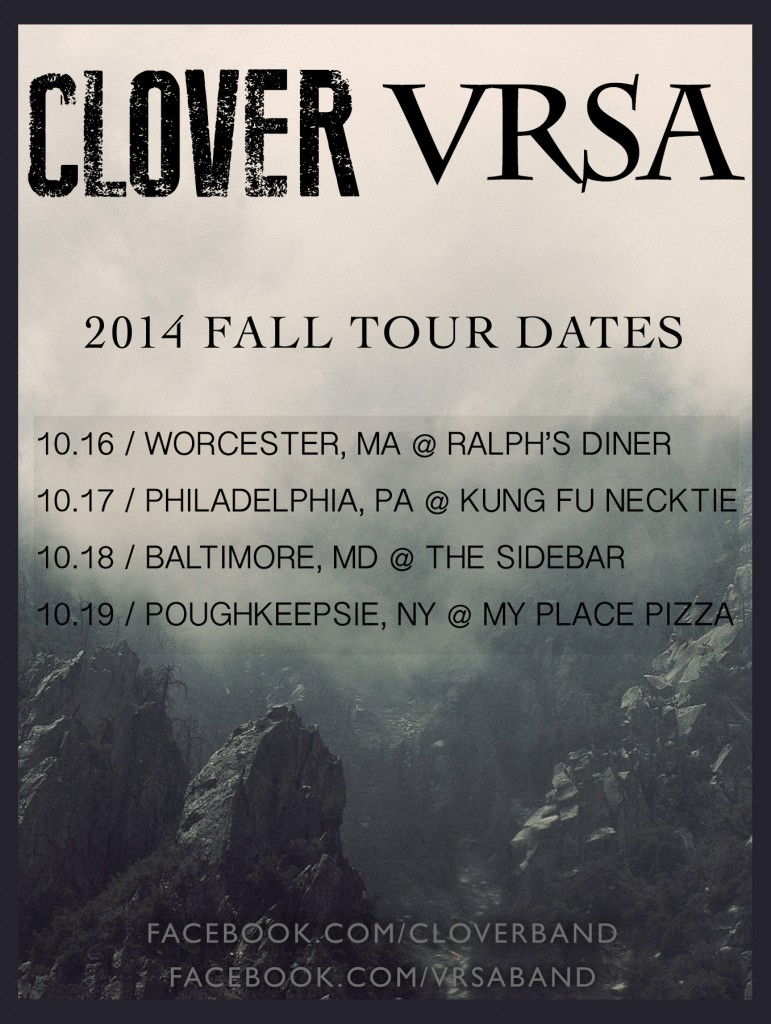 CLOVER/VRSA FALL TOUR